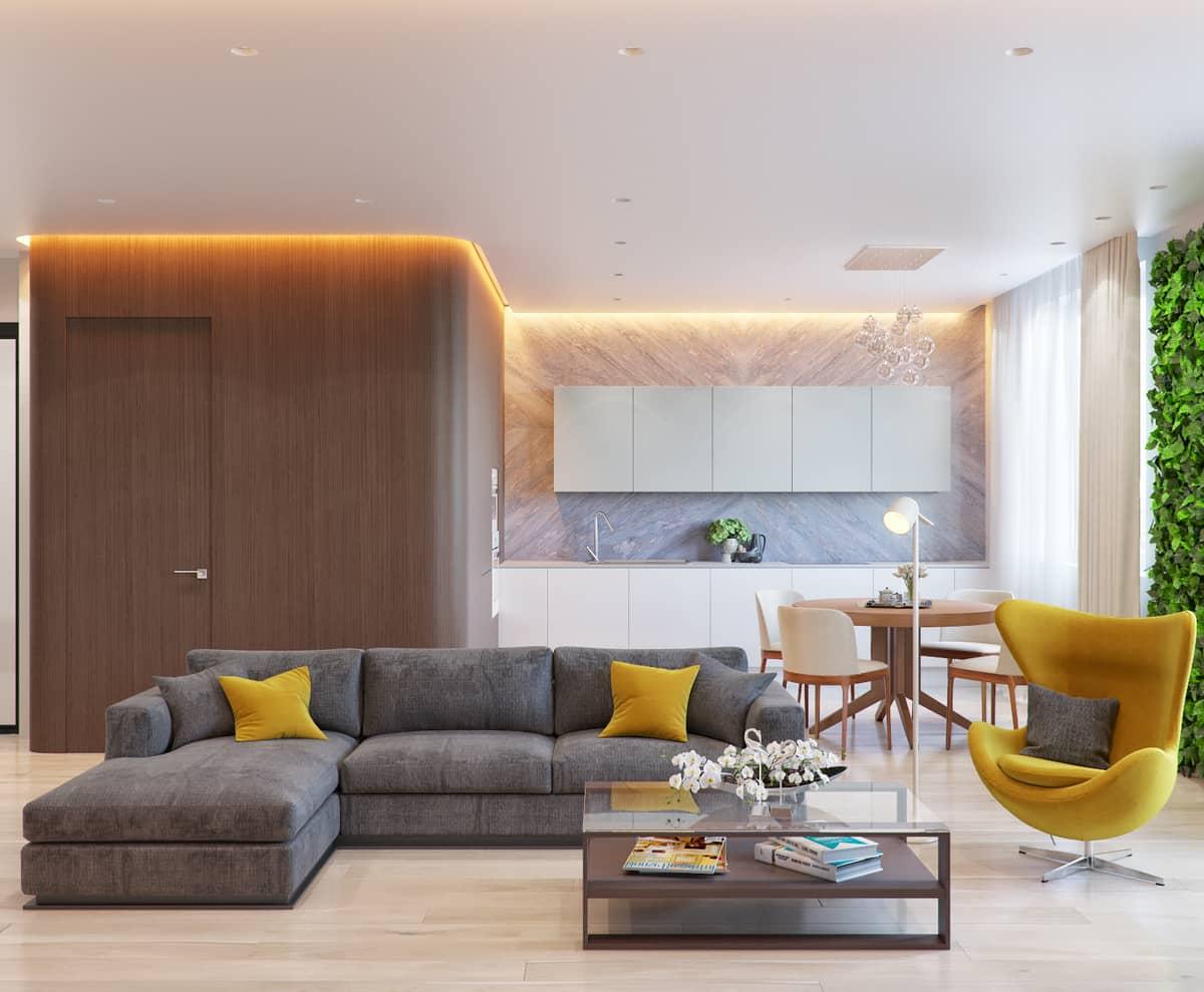 Интерьеры квартир сделанные